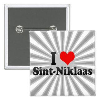 I Love Sint-Niklaas, Belgium Button