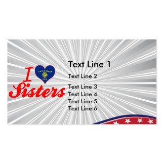 I Love Sisters, Oregon Business Card Template