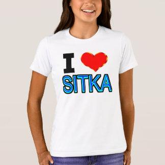 I Love Sitka T-Shirt