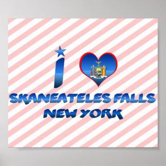 I love Skaneateles Falls, New York Posters