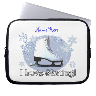 I Love Skating! Laptop Sleeve