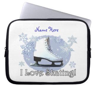 I Love Skating! Laptop Sleeve