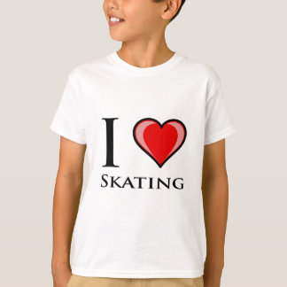 I Love Skating T-Shirt