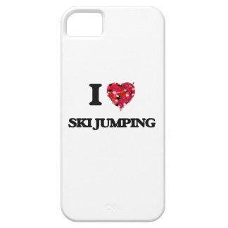 I Love Ski Jumping iPhone 5 Cover
