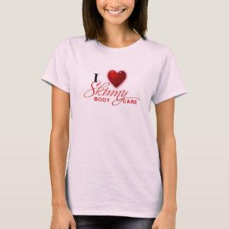 I love Skinny t-shirt
