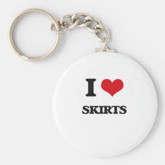 I love Skirts Keychain
