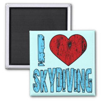 I Love Skydiving Magnet