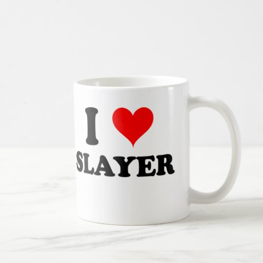 I Love Slayer Coffee Mug