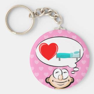 I love sleeping keychain