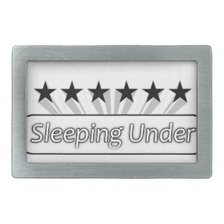 I Love Sleeping Under The Stars Belt Buckles