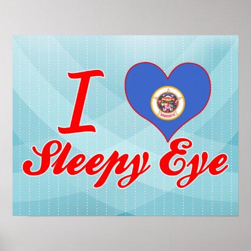 I Love Sleepy Eye, Minnesota Posters