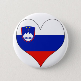 I Love Slovenia 2 Inch Round Button