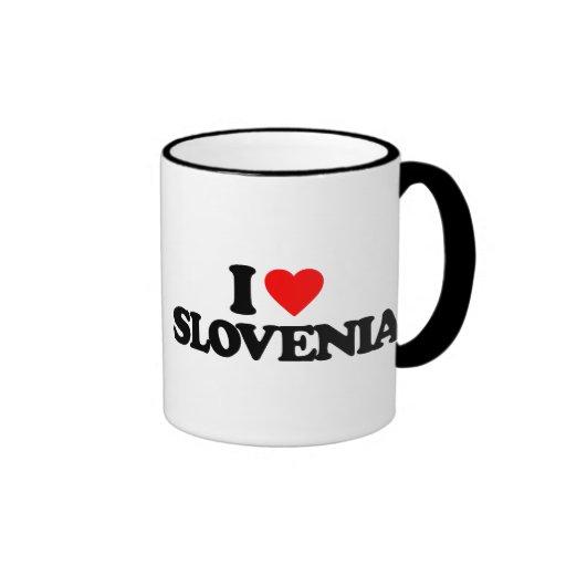 I LOVE SLOVENIA MUGS