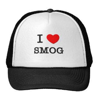 I Love Smog Trucker Hats