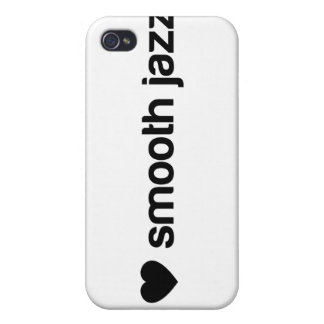 I Love Smooth Jazz iPhone 4 Cover