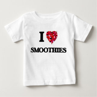 I Love Smoothies food design Baby T-Shirt