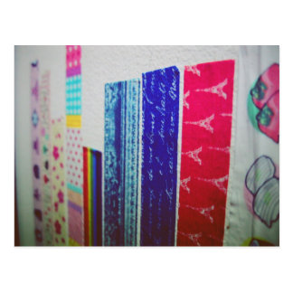I Love Snailmail - Deco Tape Postcard
