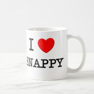 I Love Snappy Coffee Mug