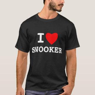 I LOVE SNOOKER T-Shirt