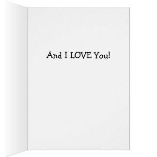I Love Snow Card