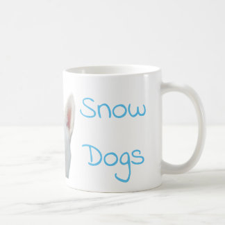I Love Snow Dogs Siberian Husky Coffee Mug