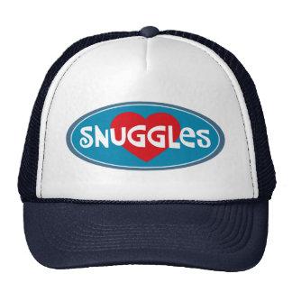 I Love Snuggles Trucker Hat