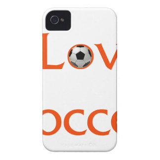 I Love Soccer iPhone 4 Covers