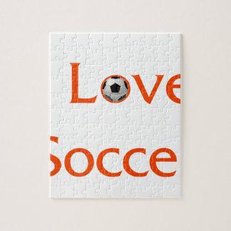 I Love Soccer Jigsaw Puzzle