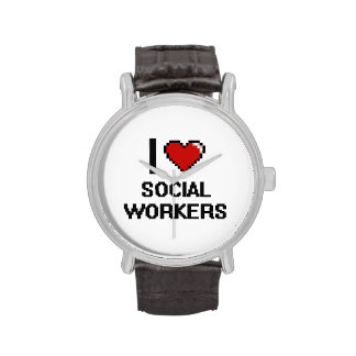 I love Social Workers Watch