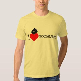 I LOVE SOCIALISM TSHIRT