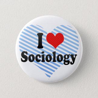 I Love Sociology 2 Inch Round Button