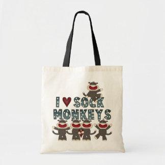 I Love Sock Monkeys Tshirts and Gifts