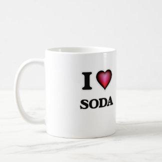 I Love Soda Coffee Mug