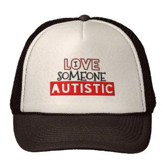 I Love Someone Autistic Trucker Hat
