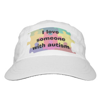 I Love Someone with Autism Headsweats Hat