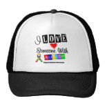 I Love Someone With Autism Mesh Hat