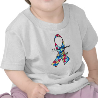 I Love Someone With Autism T Shirts