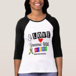 I Love Someone With Autism Tshirts