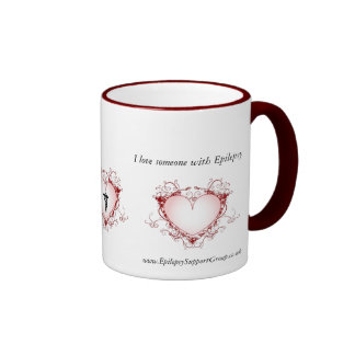 I Love Someone With EPILEPSY Mugs
