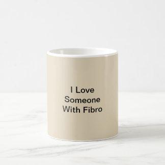I Love Someone With Fibro Coffee Mug