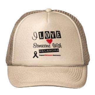 I Love Someone With Melanoma Trucker Hat