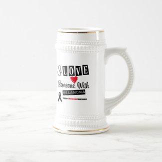 I Love Someone With Melanoma Coffee Mug