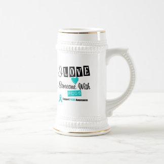 I Love Someone With PCOS Coffee Mug