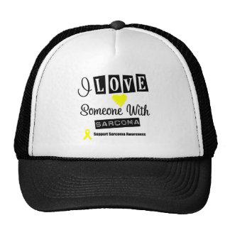 I Love Someone With Sarcoma Mesh Hats