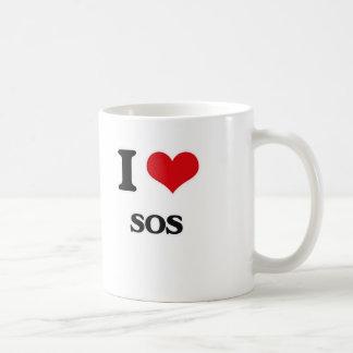 I love Sos Coffee Mug