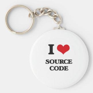 I love Source Code Keychain