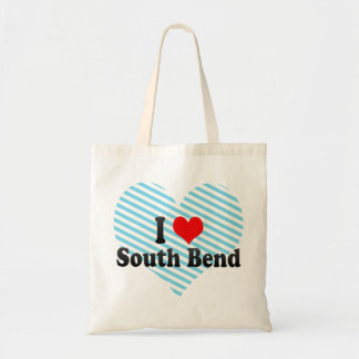 I Love South Bend, United States Tote Bag