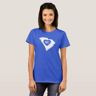 I Love South Carolina State Women's Basic T-Shirt