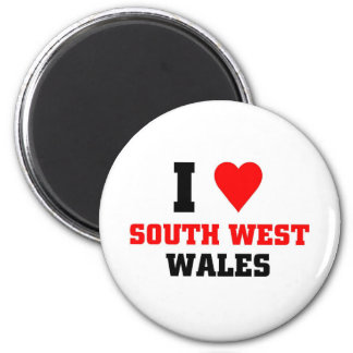 I love South West Wales Magnets
