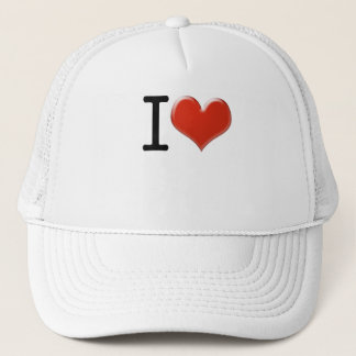 I Love souvenir Trucker Hat